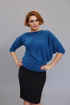 Женская блуза с цельнокроеным рукавом 10128-2