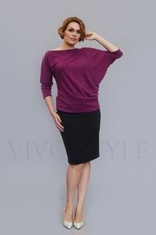 Женская блуза с цельнокроеным рукавом 10128-3