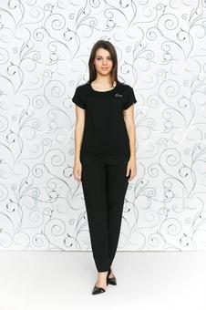 Блуза с коротким рукавом 10138-2