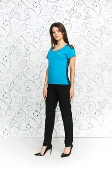 Блуза с коротким рукавом 10138-1