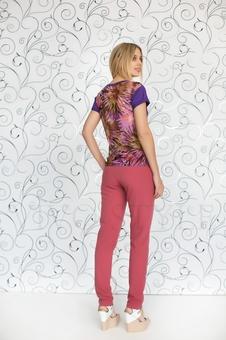 Блуза с коротким рукавом 10138-3