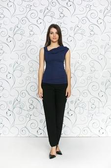 Блуза женская из мягкого трикотажа 10151-5