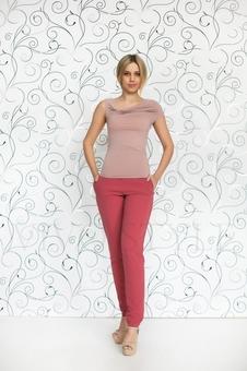 Блуза женская из мягкого трикотажа 10151-12