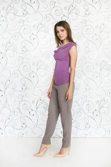 Блуза женская из мягкого трикотажа 10151-13