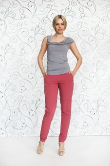Блуза женская из мягкого трикотажа 10151-14