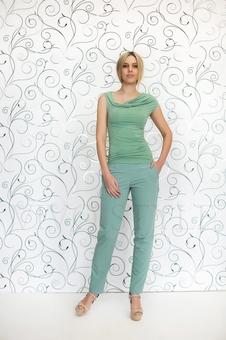 Блуза женская из мягкого трикотажа 10151-15