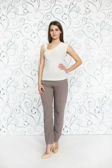 Блуза женская из мягкого трикотажа 10151-11
