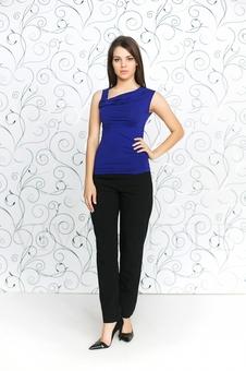 Блуза женская из мягкого трикотажа 10151-7