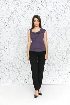 Блуза женская из мягкого трикотажа 10151-4