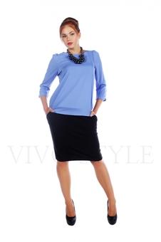 Блуза с рукавом три-четверти 10281-4