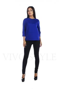Блуза с рукавом три четверти 10290-1