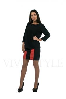 Блуза с рукавом три четверти 10290-4