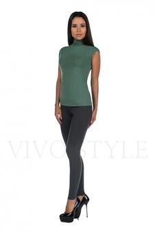 Блуза фисташкового цвета 10298-1