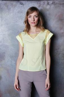 Блуза и рубашка с рельефами