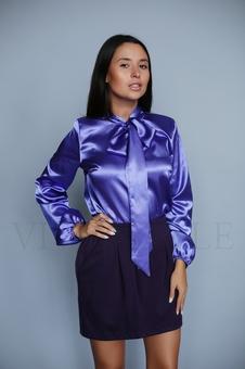 Блуза с широким рукавом