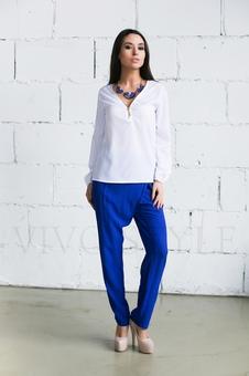 Блуза и рубашка с молнией