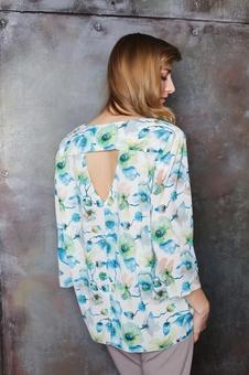 Блуза и рубашка шифоновая