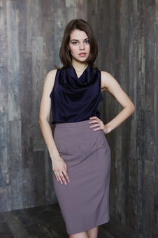 Удлиненная женская блуза 10544-1
