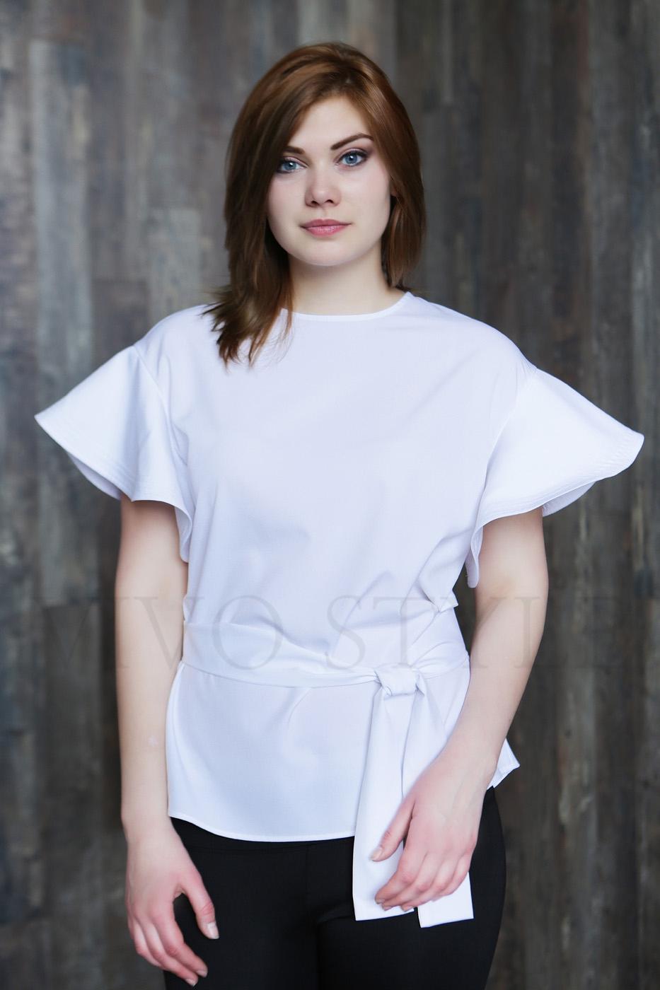 Женская блуза длиной до бедер