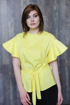Женская блуза длиной до бедер 10546KK-2