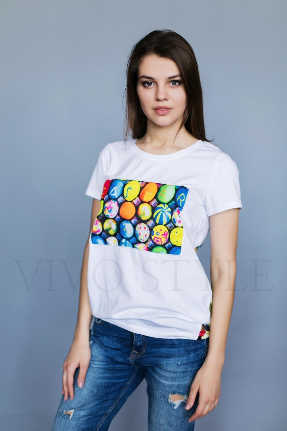Объемная женская блуза