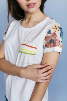 Повседневная женская блуза 16041-1