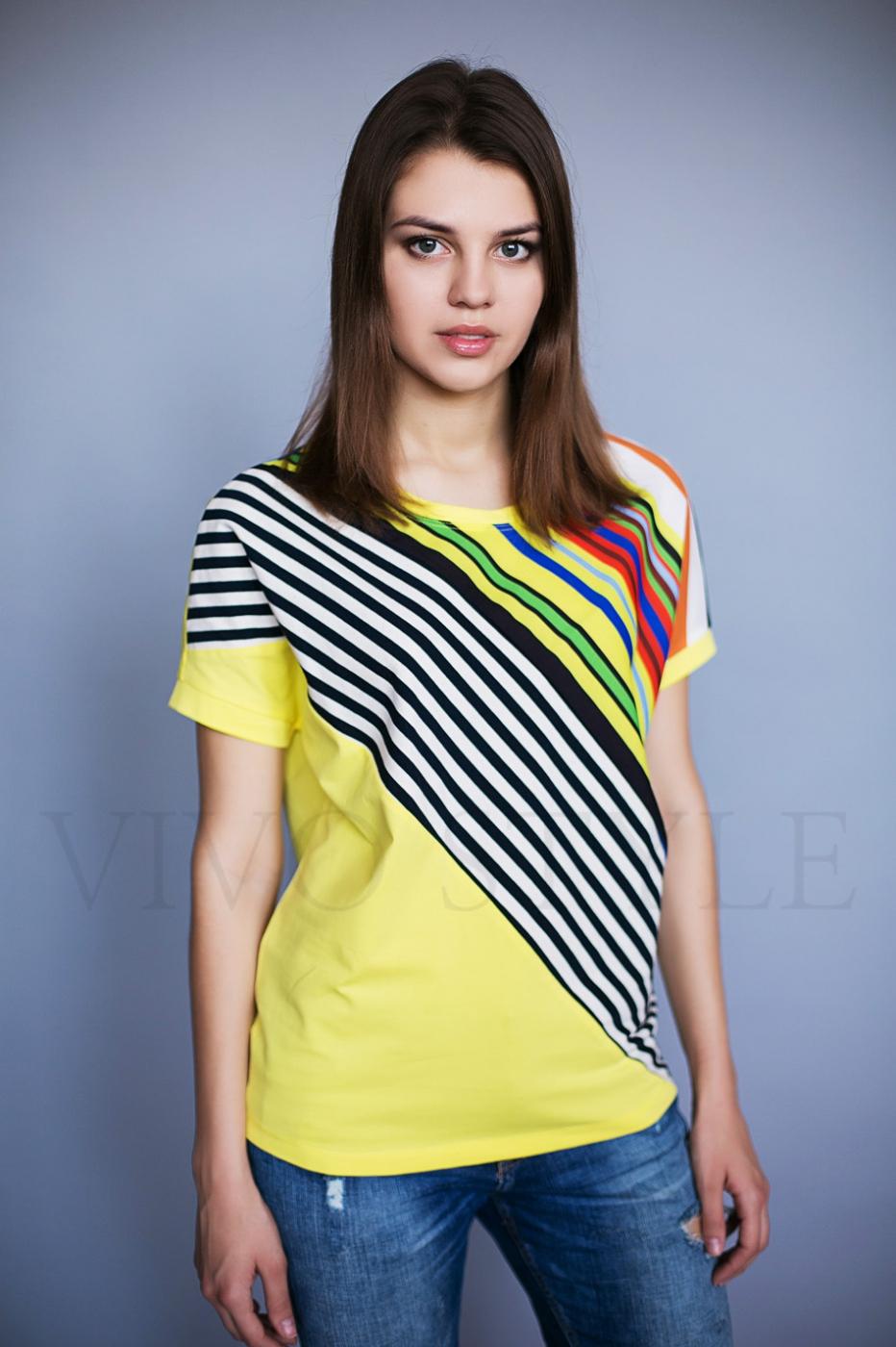 Свободная женская блуза