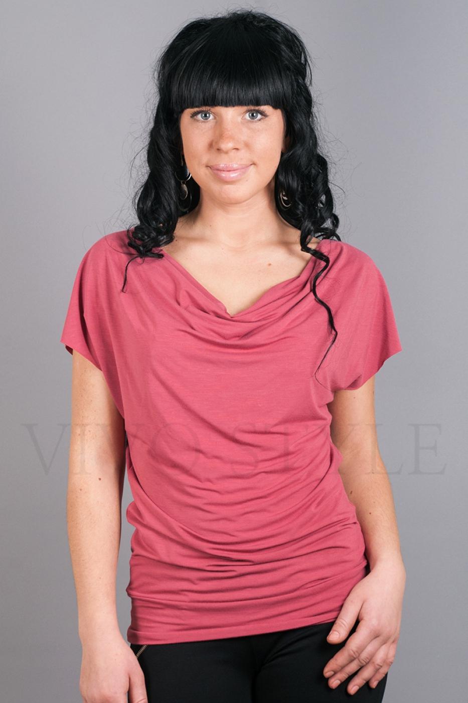 Блуза с цельнокроеным рукавом
