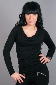 Блуза из мягкого трикотажа 10200-1