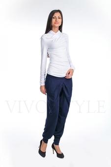 Женская трикотажная блузка 10222-3