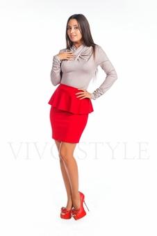 Женская трикотажная блузка 10222-2