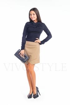 Женская трикотажная блузка 10222-5