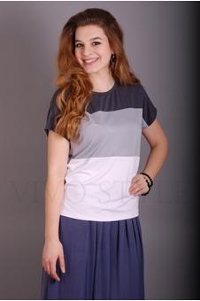 Блуза из трех частей