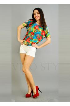 Блуза матрешка 10245-1