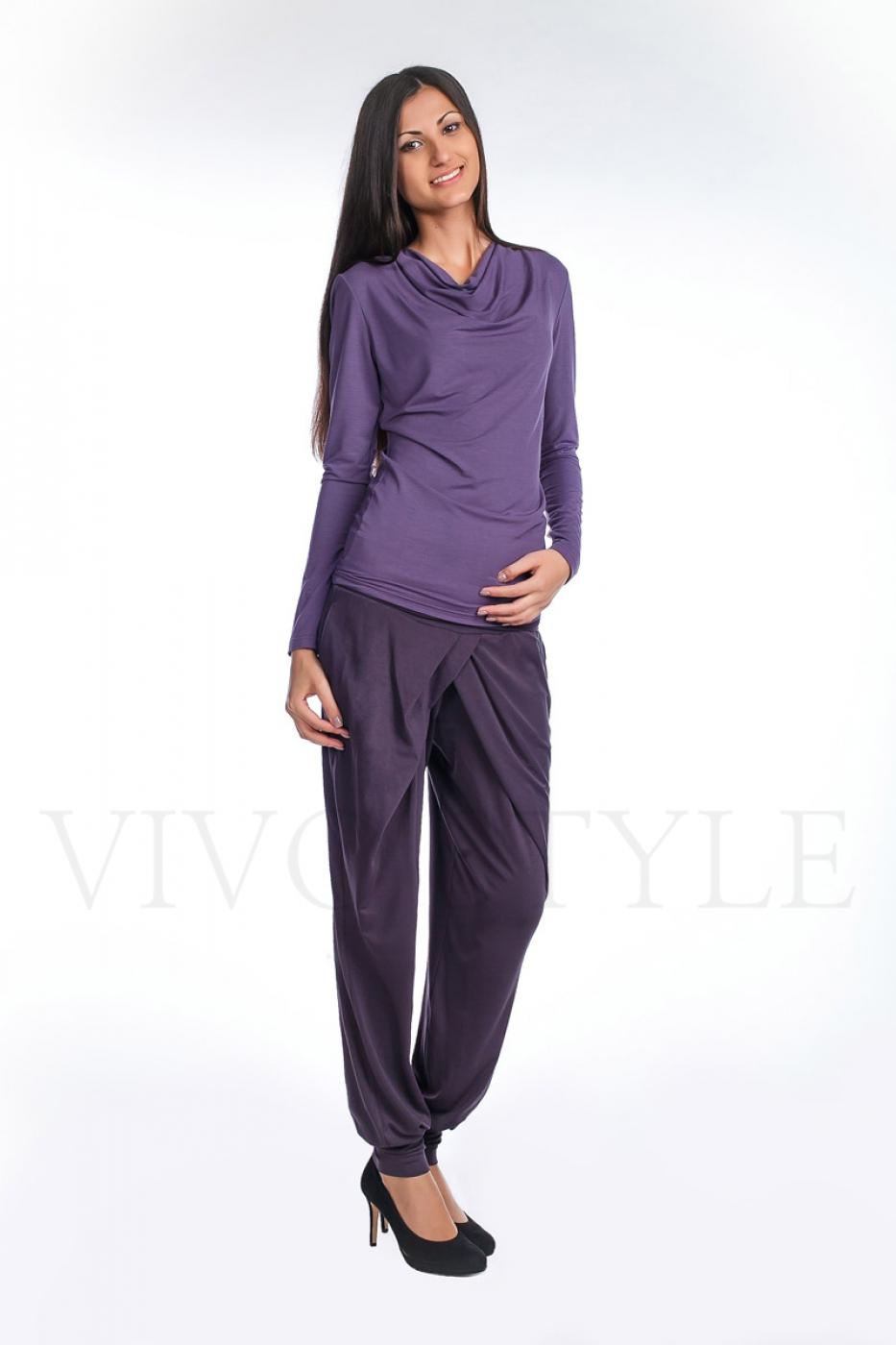 Блуза женская из мягкого трикотажа