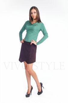 Блуза женская из мягкого трикотажа 10266-4