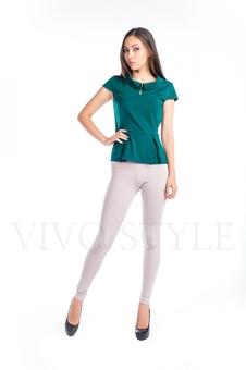 Блуза с баской 10268-1