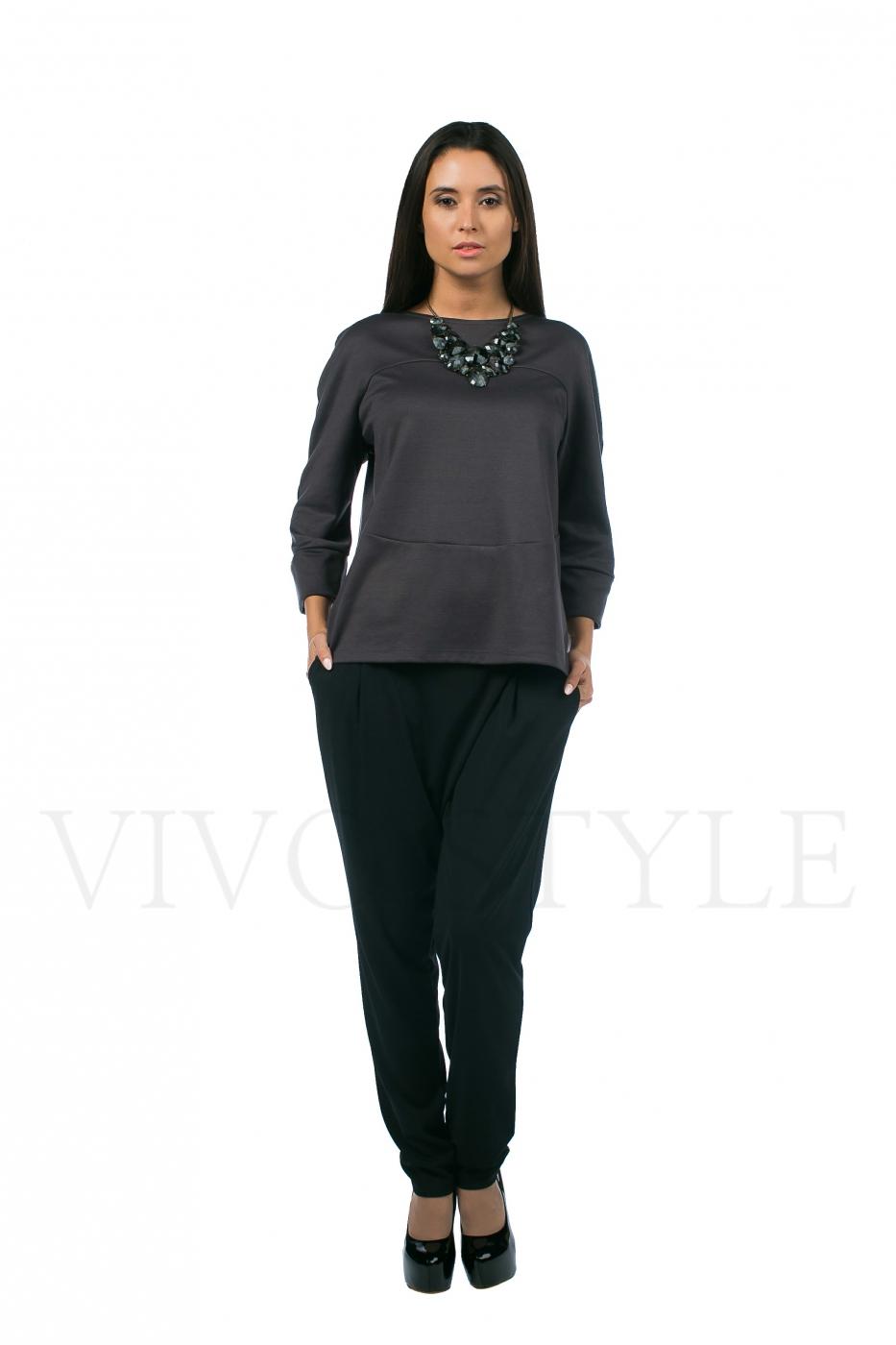 Блуза женская с укороченным рукавом