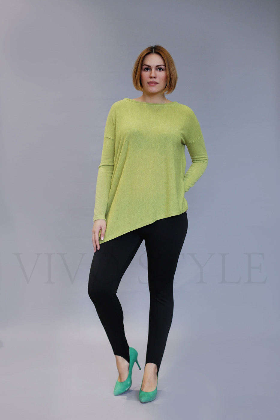 Плотно прилегающие женские брюки
