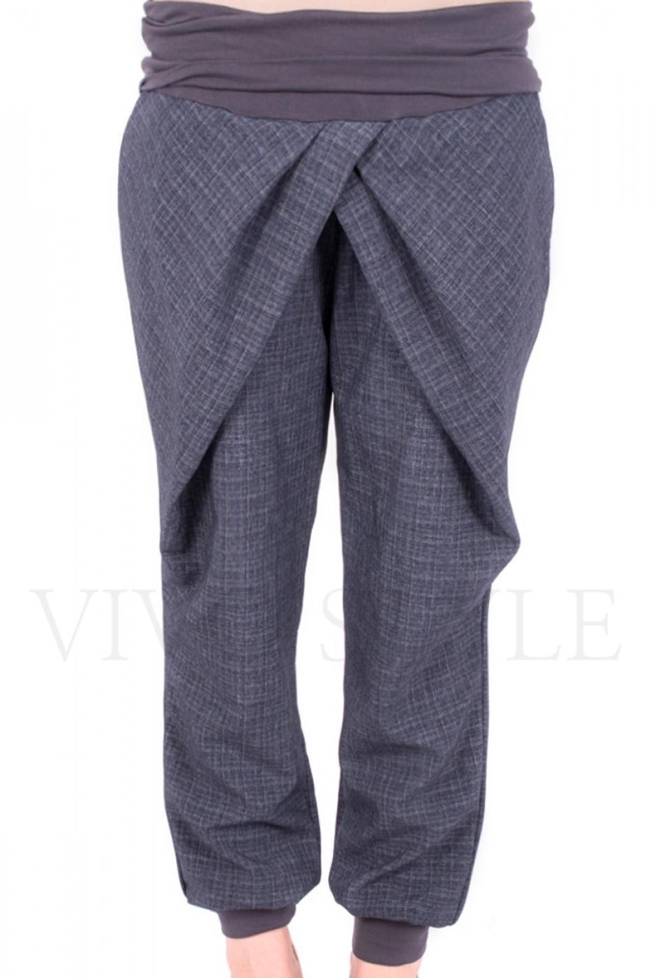 Трикотажные женские брюки