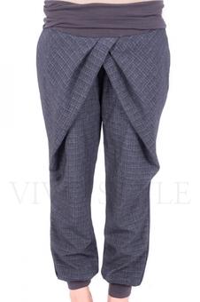 Трикотажные женские брюки 30034-4