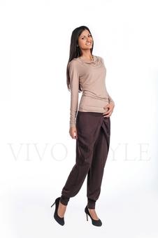 Трикотажные женские брюки 30034-5