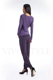 Трикотажные женские брюки 30034-2