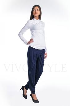 Трикотажные женские брюки 30034-1