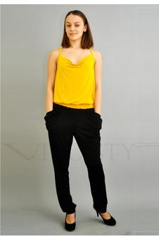 Черные брюки галифе 30079-1