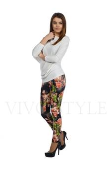 Облегающие брюки с рисунком 30121-5