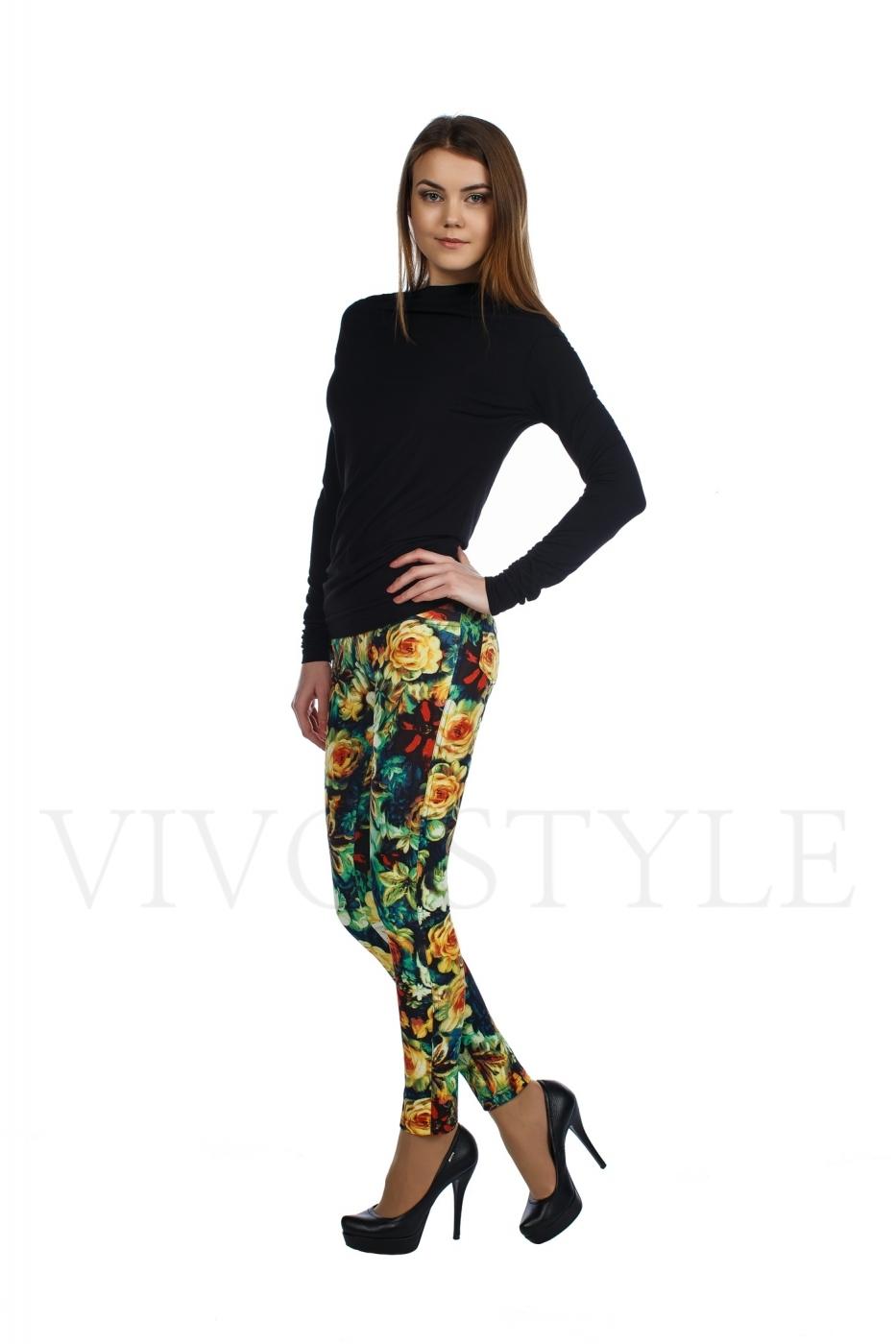 женские обтягивающие брюки