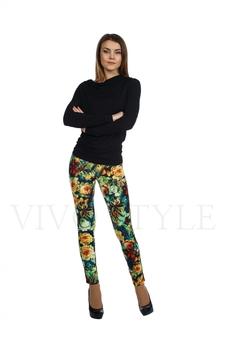 Облегающие брюки с рисунком 30121-6