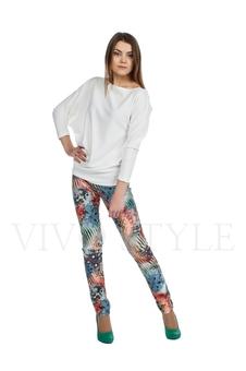 Облегающие брюки с рисунком 30121-1