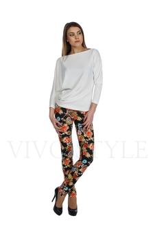 Облегающие брюки с рисунком 30121-8